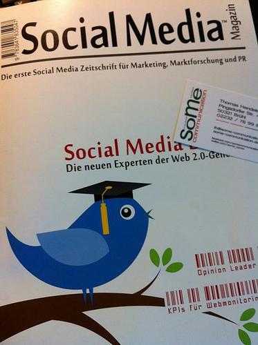 auf sozialen netzwerken